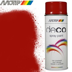 MOTIP DECO spray rouge vif 400 ml