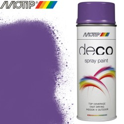 MOTIP DECO spray bleu lilas 400 ml
