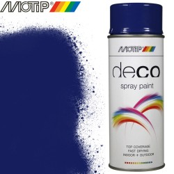 MOTIP DECO spray bleu outremer 400 ml
