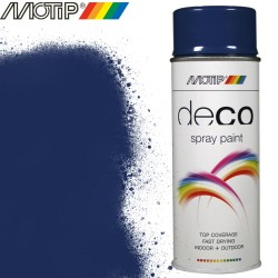 MOTIP DECO spray bleu gentiane 400 ml