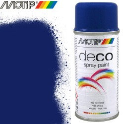 MOTIP DECO spray bleu gentiane 150 ml