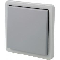 Interrupteur inverseur NIKO Hydro gris