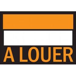 """Affiche papier """"A louer"""" 25x35cm"""