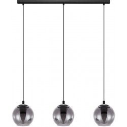 ARISCANI Suspension triple verre fumé
