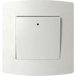 Interrupteur bipolaire encastré PROFILE blanc