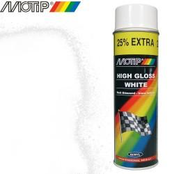 MOTIP AUTO spray blanc brillant 500 ml