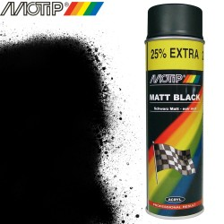 MOTIP AUTO spray noir mat 500 ml