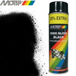 MOTIP AUTO spray noir brillant 500 ml