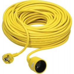 Rallonge PVC jaune 40m