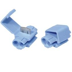 10 connecteurs rapides bleus 0,75-1,5mm²