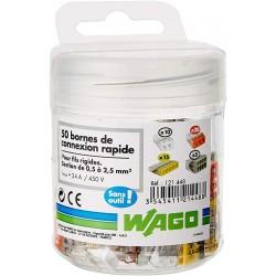 Set 50 connecteurs compacts WAGO