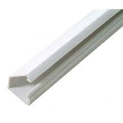 Goulotte autocollante 15x10 blanc - 2m