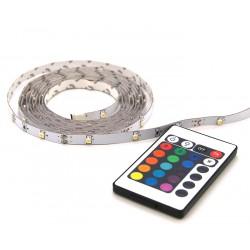Strip LED RGB 2m avec télécommande