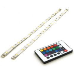 Strip LED IP44 RGB 2x30cm