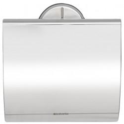 Porte-rouleau WC luxe BRABANTIA Acier Brillant