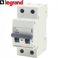 Disjoncteur bipolaire LEGRAND RX³ C10