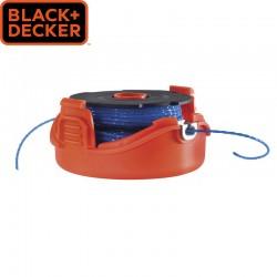 BLACK & DECKER Bobine de fil pour coupe-bordure avec capuchon