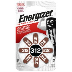 Piles ENERGIZER  8EZ312TL