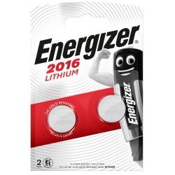 Piles ENERGIZER  CR2016