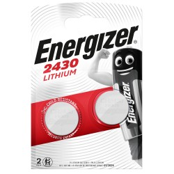 Piles ENERGIZER  CR2430