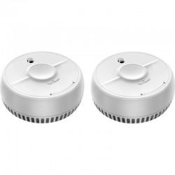 Set de 2 détecteurs de fumée optique ANGEL EYE
