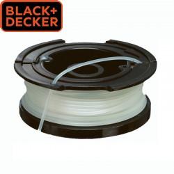 BLACK & DECKER Bobine de fil pour coupe-bordure 1,6mm X 10 m