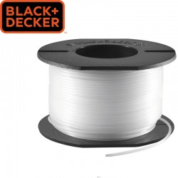 BLACK & DECKER Bobine de fil pour coupe-bordure 1,5mm X 37.5 m