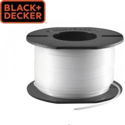 BLACK & DECKER Bobine de fil pour coupe-bordure 1,5mm X 37.5 m