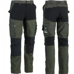 Pantalon HEROCK Hector kaki/noir