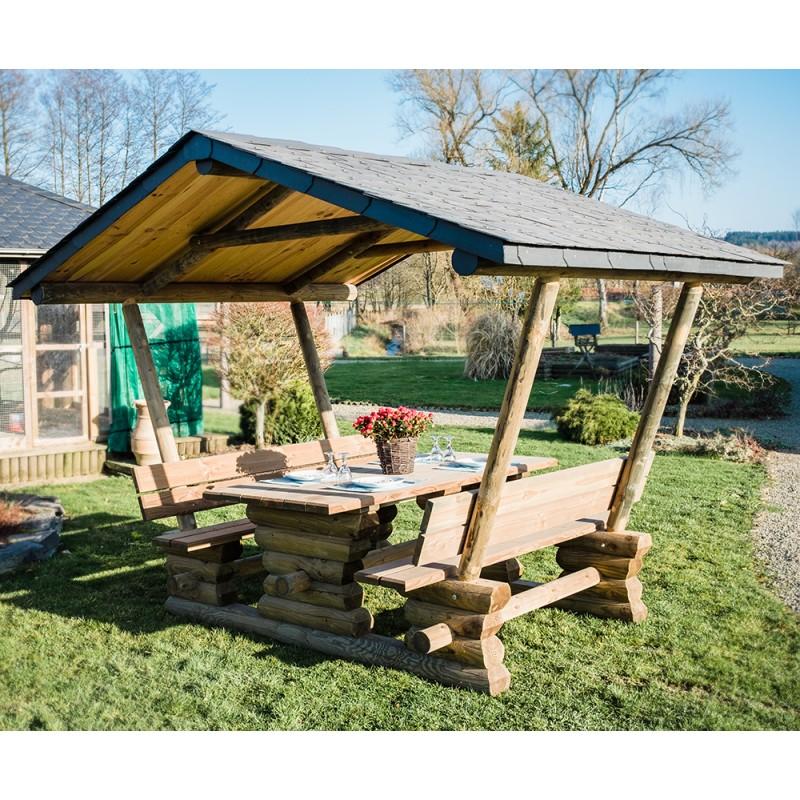 Ensemble 4 saisons 300cm toiture shingles