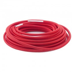 Tube PEX-ALU rouge Ø16mm - 25m