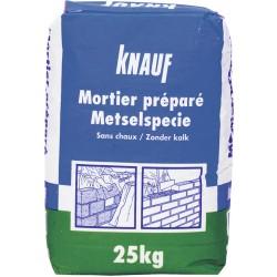 KNAUF Mortier préparé 25 Kg