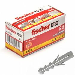 Chevilles FISCHER S5 100pcs