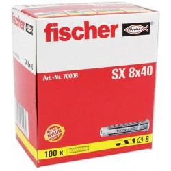 Chevilles FISCHER SX8 100pcs
