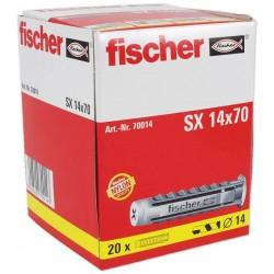 Chevilles FISCHER SX14 20pcs