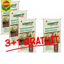 Mulch d'écorces Herbistop COMPO 3+1 GRATUIT