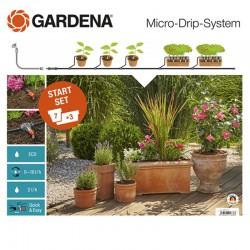 GARDENA Kit d'arrosage pour plantes en pots
