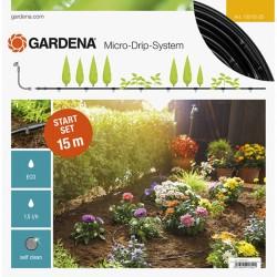 GARDENA Kit pour rangées de plantes de 15 m