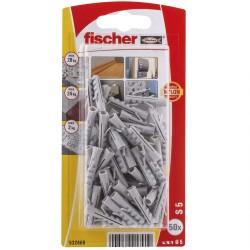 Chevilles Fischer S5 GK 50pcs