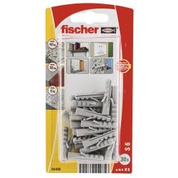 Chevilles Fischer S6 GK 30pcs