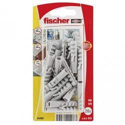 Chevilles Fischer S8 GK 20pcs