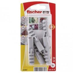Chevilles Fischer S12 GK 6pcs