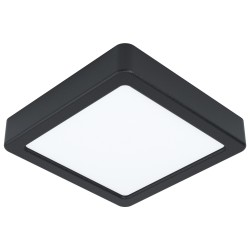 FUEVA Plafonnier LED carré 16 cm