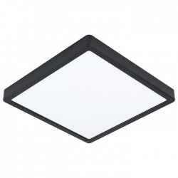 FUEVA Plafonnier LED carré 28 cm