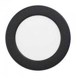 FUEVA Spot encastré LED Ø86 Noir