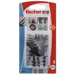 Chevilles pour carton plâtre FISCHER GK-K 10 pcs