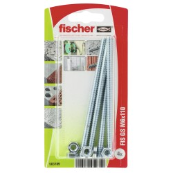 Tige filetée FISCHER GS M6 x 110 4 pcs