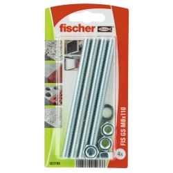 Tige filetée FISCHER GS M8 x 110 4 pcs
