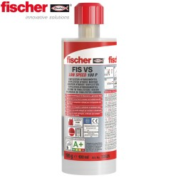 Mortier de scellement par injection FISCHER FIS VS 100P 100ml