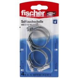 Colliers de serrage FISCHER 20-32 mm 4pcs